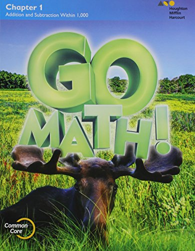9780544390140: GO Math!: Multi-Volume Student Edition Bundle Grade 3 2015