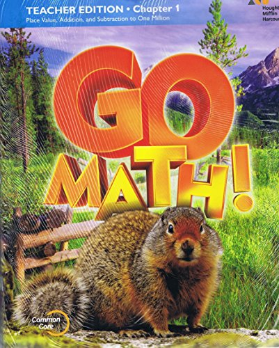 9780544390546: GO Math!: Teacher Edition and Planning Guide Bundle Grade 4 2015