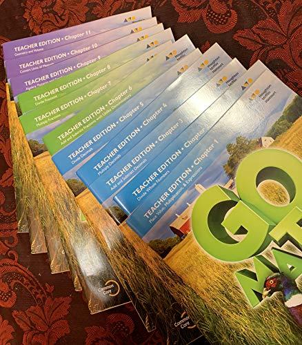 9780544390553: Go Math! 2015, Grade 5 + Planning Guide