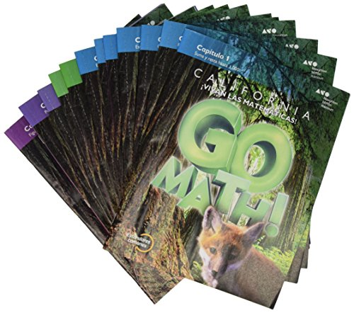 9780544397118: Go Math! Spanish California: Multi-Volume Student Edition Set Grade 3 2015 (Spanish Edition)