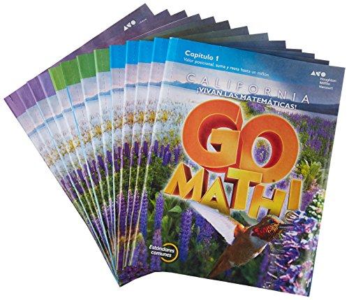 9780544397125: Go Math! 2015, Grade 4: California Edition