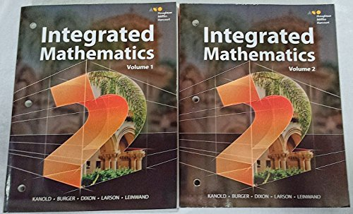 9780544399983: HMH Integrated Math 2: Interactive Student Edition Set 2015