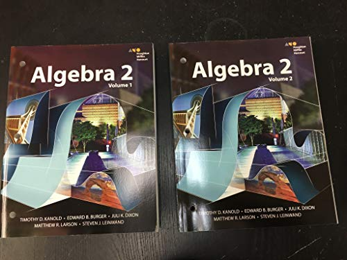 9780544400542: HMH Algebra 2: Interactive Student Edition Set 2015