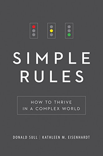 9780544409903: Simple Rules: How to Thrive in a Complex World
