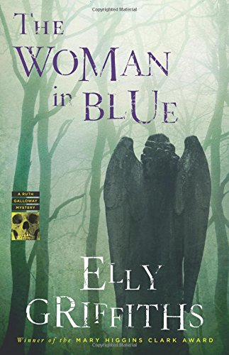 Cover of the book, The Woman in Blue (Ruth Galloway, #8).