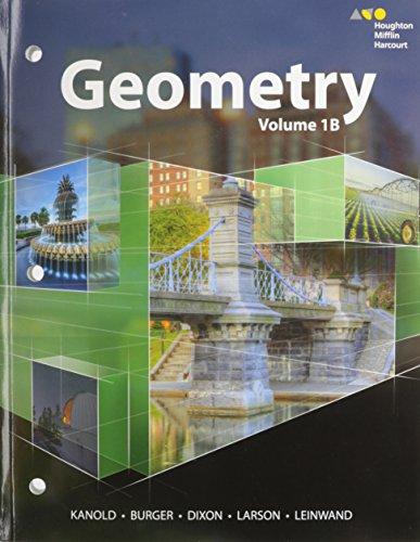 9780544419872: HMH Geometry: Interactive Student Edition Mini-Volume 1B 2015
