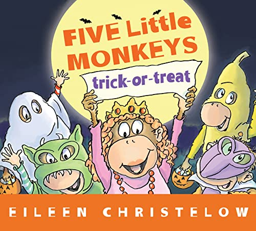 9780544430624: Five Little Monkeys Trick-or-Treat