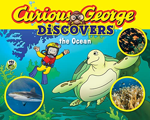 9780544430655: Curious George Discovers the Ocean (Science Storybook)