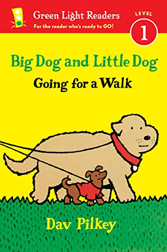 9780544430716: Big Dog and Little Dog Going for a Walk (Green Light Readers Level 1)