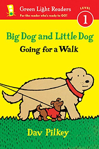 9780544430723: Big Dog and Little Dog Going for a Walk (Reader): Big Dog and Little Dog Board Books (Green Light Readers Level 1)