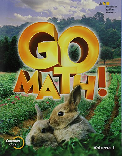 9780544432697: Go Math!: Student Edition Volume 1 Grade K 2015