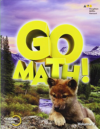 9780544432727: Go Math!: Student Edition Volume 2 Grade 1 2015