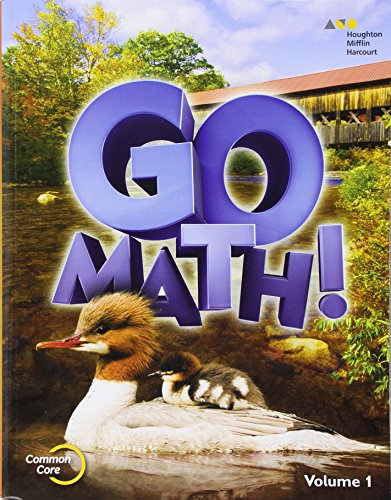 9780544432734: Go Math!: Student Edition Volume 1 Grade 2 2015