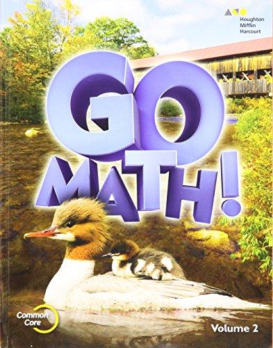 9780544432741: Go Math!: Student Edition Volume 2 Grade 2 ...