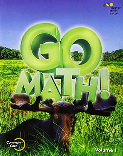 9780544432758: Go Math!: Student Edition Volume 1 Grade 3 2015