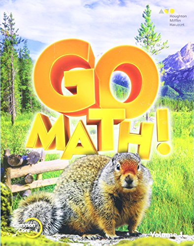 9780544432772: Go Math!: Student Edition Volume 1 Grade 4 2015