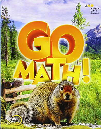 9780544432789: Go Math!: Student Edition Volume 2 Grade 4 2015