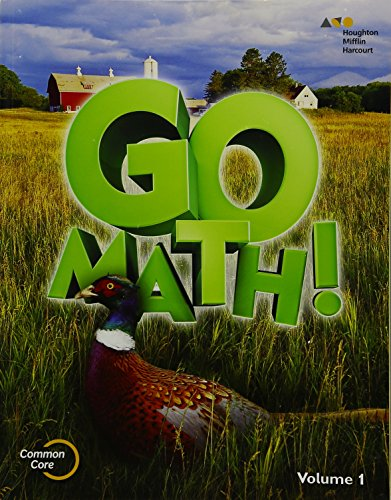 9780544432796: Go Math!: Student Edition Volume 1 Grade 5 2015