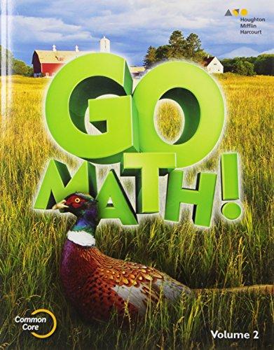 Download Student Edition Volume 2 Grade 5 2015 (Go Math!)