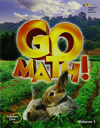 9780544433342: GO Math!: Student Edition Set Grade K 2015