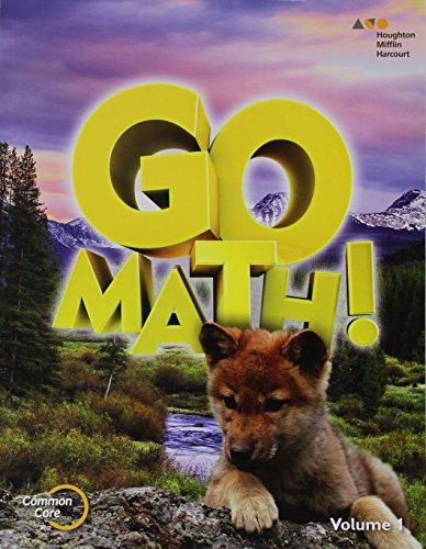 9780544433359: GO Math!: Student Edition Set Grade 1 2015