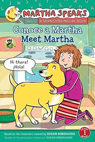 9780544435131: Martha Habla: Conoce a Martha/Martha Speaks: Meet Martha Bilingual Reader