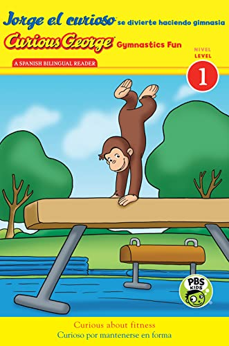 9780544439726: Jorge el curioso se divierte haciendo gimnasia/Curious George Gymnastics Fun bilingual (CGTV Reader) (Spanish and English Edition)