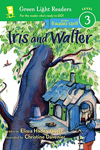 9780544456044: Iris and Walter Book and CD (Green Light Readers Level 3)
