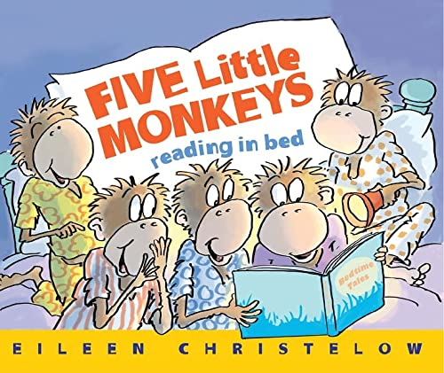 9780544488007: Five Little Monkeys Reading in Bed