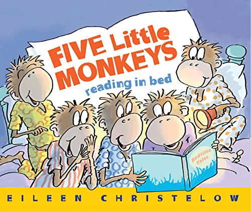 9780544488007: Five Little Monkeys Reading in Bed (A Five Little Monkeys Story)