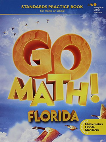 9780544501713: Go Math!: MAFS Student Standards Practice Book Grade 4