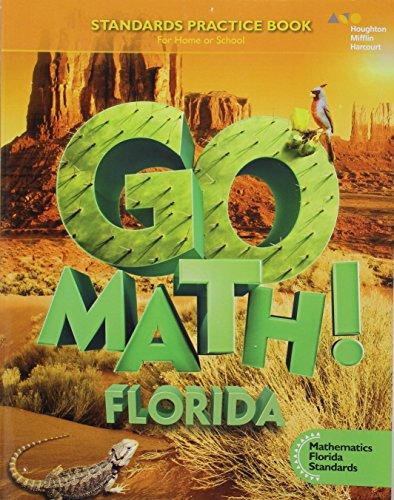 9780544501720: Go Math!: MAFS Student Standards Practice Book Grade 5