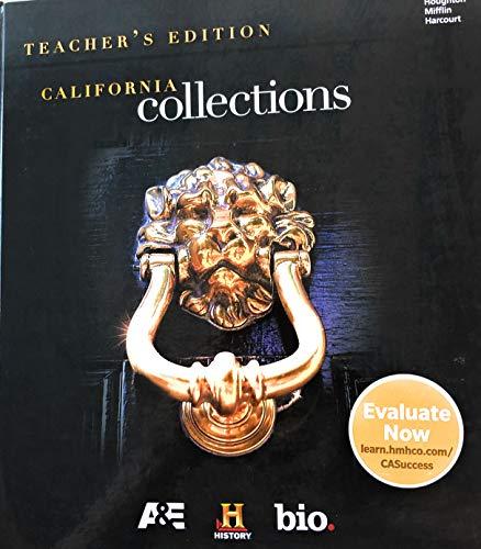 9780544503427: Houghton Mifflin Harcourt Collections California: Teacher Edition Grade 12 2017