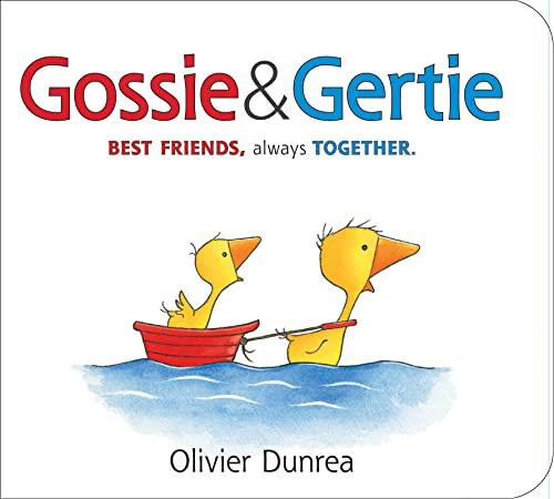 9780544506442: Gossie & Gertie Padded Board Book (Gossie & Friends)
