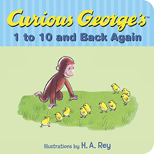 9780544547667: Curious George's 1 to 10 and Back Again