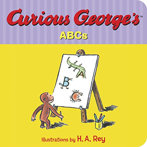 Curious George's ABCs (Board book): H. A. Rey