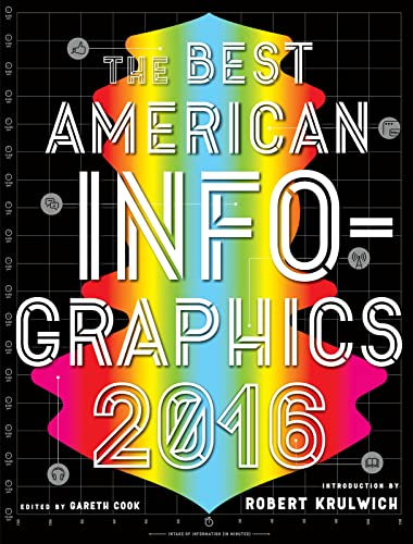 9780544556386: The Best American Infographics 2016 (The Best American Series ®)