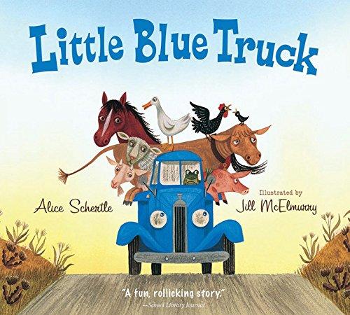 9780544568037: Little Blue Truck Board Book