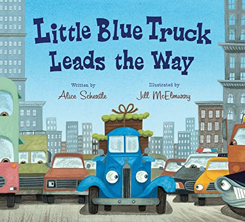 9780544568051: Little Blue Truck Leads the Way board book