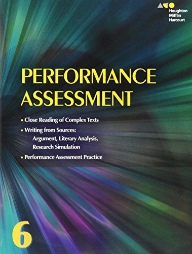 9780544569331: Collections: Performance Assessment Student Edition Grade 6
