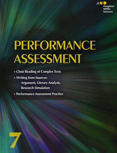9780544569348: Collections: Performance Assessment Student Edition Grade 7