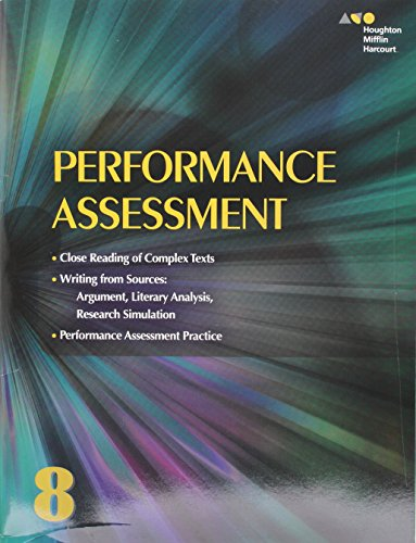 9780544569355: Collections: Performance Assessment Student Edition Grade 8