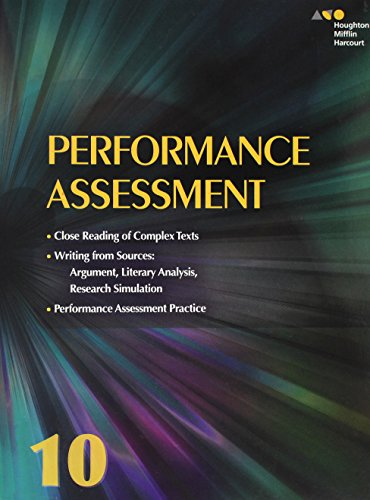9780544569386: Collections: Performance Assessment Student Edition Grade 10