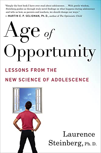 9780544570290: Age of Opportunity: Lessons from the New Science of Adolescence