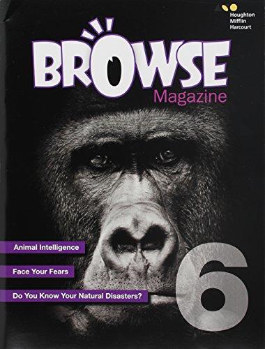 9780544579071: Houghton Mifflin Harcourt Escalate English: Browse Student Magazine Grade 6