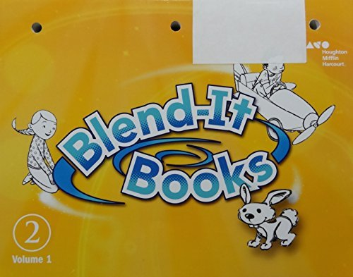 9780544587205: Journeys: Blend-it Books Volume 1 Grade 2