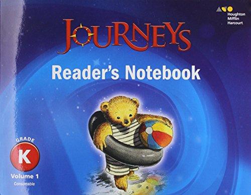9780544587229: Journeys: Reader's Notebook Volume 1 Grade K