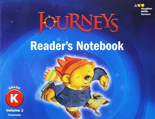 9780544587236: Journeys: Reader's Notebook Volume 2 Grade K