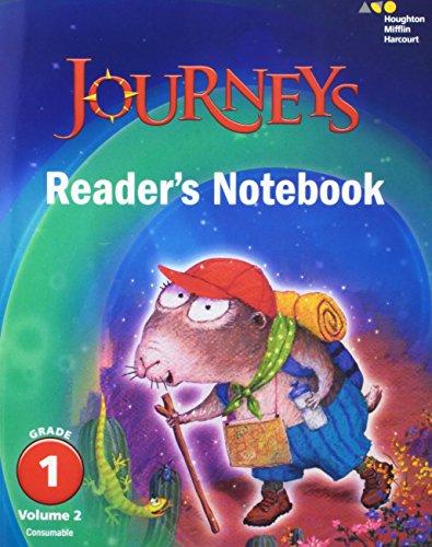 9780544592605: Journeys: Reader's Notebook Volume 2 Grade 1