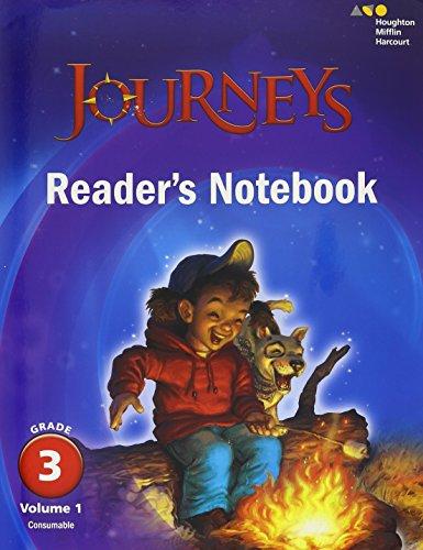 9780544592636: Journeys: Reader's Notebook Volume 1 Grade 3